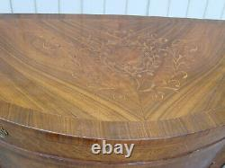 60434 Large Inlaid Buffet Sideboard Server Cabinet