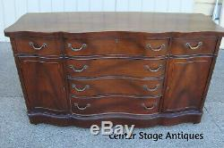 60828 Antique Mahogany Buffet Sideboard Server Cabinet
