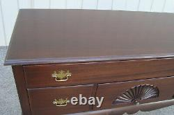 60928 Antique Mahogany MADDOX Buffet Sideboard Server Chest Cabinet