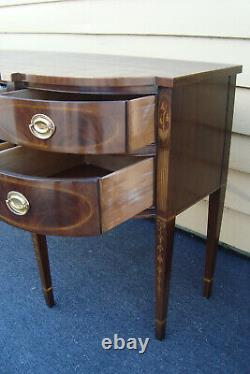 61127 DREXEL HERITAGE Banded Inlaid Buffet Sideboard Server Cabinet
