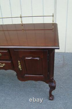 62041 Thomasville Sideboard Server Buffet Chest with Brass Gallery