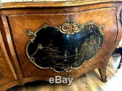 Antique French Asian Sideboard, Server or Buffet 9