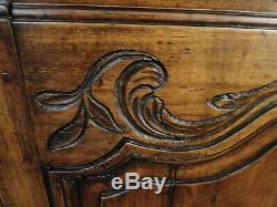 Antique French Country Buffet Sideboard Server Elegant South of France Carved