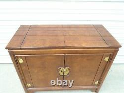 Asian Thomasville Buffet Chin Hua Server Burl Table Hollywood Regency Sideboard