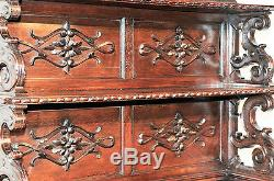 Attractive Antique French Hunt Cabinet, Buffet or Server, Turn of the Century