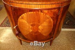 Baker Historic Charleston Collection Demilune Commode Buffet Server