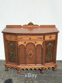Buffet French Provincial Cabinet Console Tv Stand Server Storage Country Table
