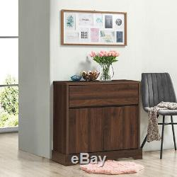 Buffet Sideboard Server Cupboard Cabinet Console Table With Storage Drawer