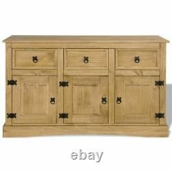 Buffet Sideboard Storage Cabinet Server Table Wood Console Kitchen Dining Room