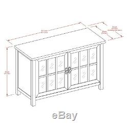 Buffet Sideboard Table Cabinet Server Wood Console Media Audio Display TV 55