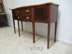 Ethan Allen 18th Century Mahogany Chippendale Sideboard Buffet Server Console B