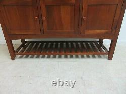 Ethan Allen Cherry American Impressions Mission Server Sideboard Buffet Console