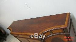 Ethan Allen Easton Sideboard Server Buffet Console Marquetry Mahogany