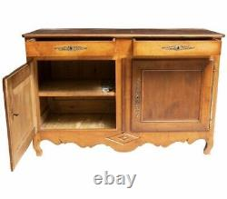 French Antique Louis XV Sideboard / Server / Buffet c 1880
