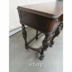 Gorgeous French Louis XV Satinwood & Walnut Inlaid Sideboard Buffet Server C1920