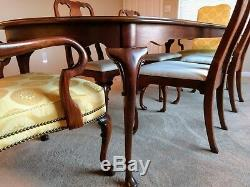 HICKORY FURNITURE CO. American Masterpiece Dining Set Buffet Server Table Chairs