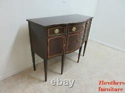 Hickory White Mahogany Collection Hepplewhite Sideboard buffet Server