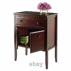 Kitchen Buffet Storage Cabinet Sideboard Hutch Dining Room Server Cupboard Wood