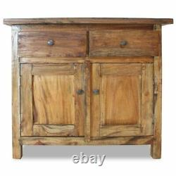 Kitchen Storage Cabinet Buffet Server Table Sideboard Dining Room Reclaimed Wood