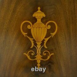 Louis Inlayed Sideboard Server Buffet dining Cabinet traditional mahogany