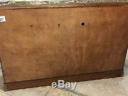 Michael Amini AICO Pecan Brown Buffet Sideboard Server With Marble Top GORGEOUS