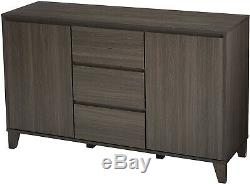 Modern Sideboard Buffet Gray Kitchen Storage Cabinet Dining Server TV Console