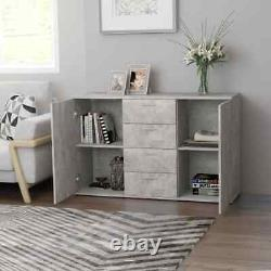 Modern Storage Sideboard Buffet Wood Cabinet Console Table Server Home Kitchen