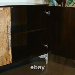 Modern Transitional Sideboard Server Buffet dining Cabinet traditional mahogany