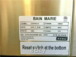 NEW 3 Pan Electric Warmer Restaurant Buffet Catering Food Server NSF Bane Marie