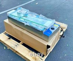 NEW 6 Pan Table Countertop Buffet Steam Warmer Server Catering Glass Guard 110V