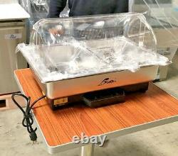 NEW Commercial Two Pan Table Counter Top Buffet Electric Warmer Server Catering