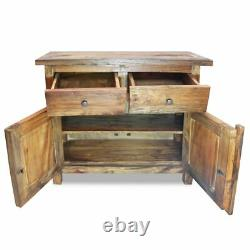 Rustic Kitchen Storage Cabinet Buffet Server Table Sideboard Dining Room Wood