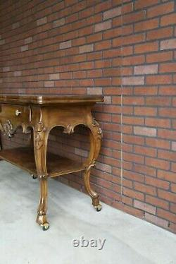 Server French Provincial Serving Cart Country French Buffet Cart Console
