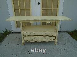 Server Thomasville Buffet French Serving Table Hollywood Regency Bar Country