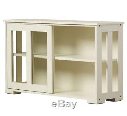 Sideboards And Buffet Tables With Storage Credenzas Servers Cabinet White China