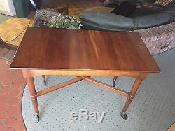 Stickley cherry extension server sideboard buffet Missing Tray