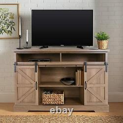 Storage Sideboard Buffet Wooden Cabinet Console Table Server Home KitchenOak
