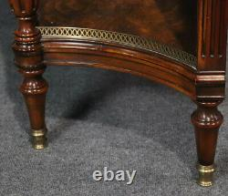 Superb Theodore Alexander Flame Mohagany & Bronze Sideboard Server Buffet