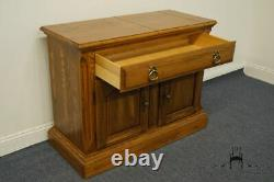 TEMPLE STUART Oak Hill Collection Country French 63 Flip-Top Server Buffet