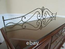 Thomasville Cherry Queen Anne Server, Buffet, Sideboard, With Optional Gallery