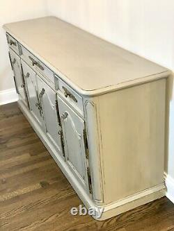 VINTAGE HENREDON SERVER, BUFFET, SIDEBOARD, French Country Orig $3750 RARE