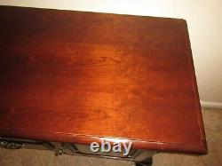 Vintage Thomasville Solid Cherry Wood Buffet Sideboard Server TV Cabinet